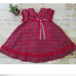 Rare Editions Christmas Holiday Dress Sz 4T ~ Clas